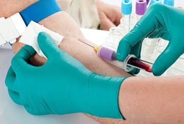 Сдача крови из вены