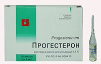 препараты прогестерона