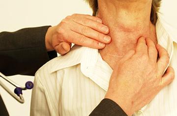 припухлость в области горла