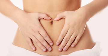 расположение яичников у женщин