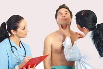 проблемы щитовидной железы у молодого человека