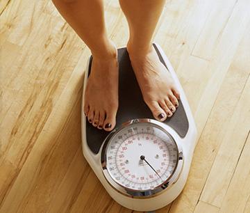 резкий набор веса