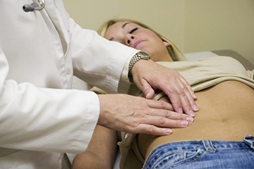 тактильный осмотр пациентки