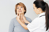 Проверка щитовидной железы на наличие узлов