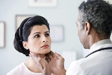 Диагностика увеличения щитовидки