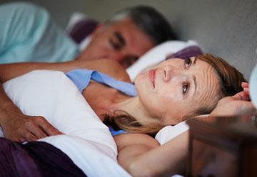 Проблемы со сном у женщины