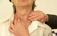 Изменение структуры щитовидной железы