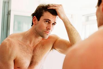 облысение волос