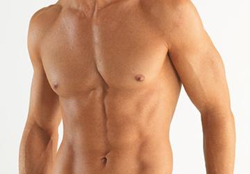 грудь у мужчины