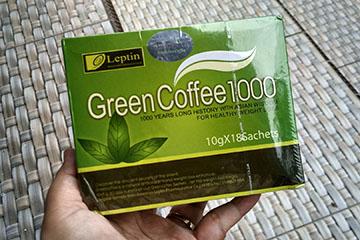 лептин с зеленым кофе
