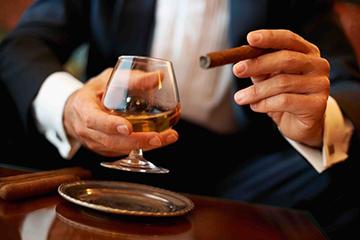 курение и алкоголь снижает тест