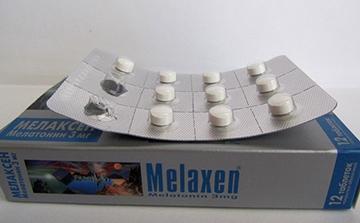 таблетки мелаксена