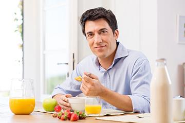 рацион питания мужчин