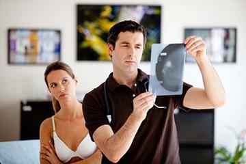 выявление патологий груди