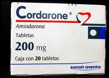 препарат кордарон в таблетках
