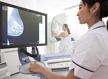 снимок молочной железы