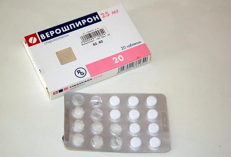 таблетки верошпирона