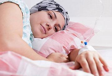 женщина на лечении